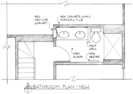 Double Sink Bathroom Floor Plans double sink bathroom floor plans : brightpulse
